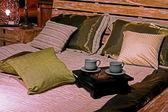 Etno bedding — Stock Photo