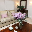 Elegant living room — ストック写真