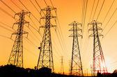 Electric Powerlines — Stock Photo