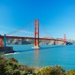 The Golden Gate Bridge in San Francisco with beautiful blue ocea — Stock Photo #10302279