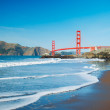 The Golden Gate Bridge in San Francisco with beautiful blue ocea — Stock Photo #10302306