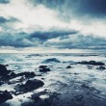 Storm on the Sea, Ocean Storm — Stock Photo