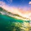 Stock Photo: Sunset Wave