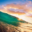 Sunset Wave — Stock Photo #10458629