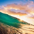 Sunset Wave - Foto de Stock