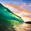 Sunset Wave — Stock Photo #10458631