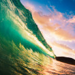 Sunset Wave — Stock Photo #10458812