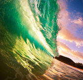 Sunset Wave — Foto Stock