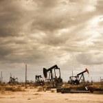 Oil Field in Desert — Stock Photo #8450453