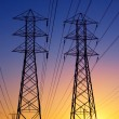 Electric Power Transmission Lines — Stock Photo #8450480
