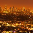 Los Angeles, Urban City at Sunset — Stock fotografie