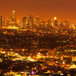 Los Angeles, Urban City at Sunset - Stock Photo