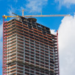 New Building Under Construction — Stock Photo #8453669