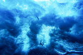 Under Water Abstract Texture — Stock Photo