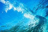 Water Texture Under Water — Stock Photo