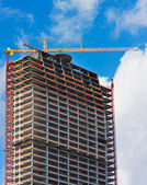 New Building Under Construction — Stock Photo