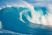 MAUI, HI - MARCH 13: Professional surfer Billy Kemper rides a gi — Stock Photo