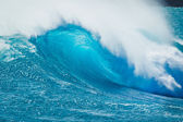 Beautiful Blue Ocean Wave — Stock Photo