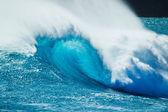 Beautiful Blue Ocean Wave — Stock Photo