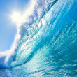 Stock Photo: Blue OceWave