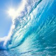 Blue Ocean Wave — Stock Photo #8470542