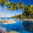 Stock Photo: Tropical Resort Pool