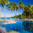 Tropical Resort Pool — Stock Photo