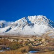 Snowy Mountain - Stock Photo