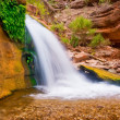 Beautiful Desert Waterfall - Stockfoto