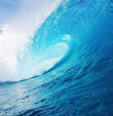 Blue Ocean Wave — Stock Photo