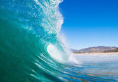 Blue Ocean Wave — Stock Photo