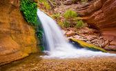 Beautiful Desert Waterfall — Stock Photo