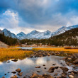 Стоковое фото: Amazing Landscape, Beautiful Mountain Sunset
