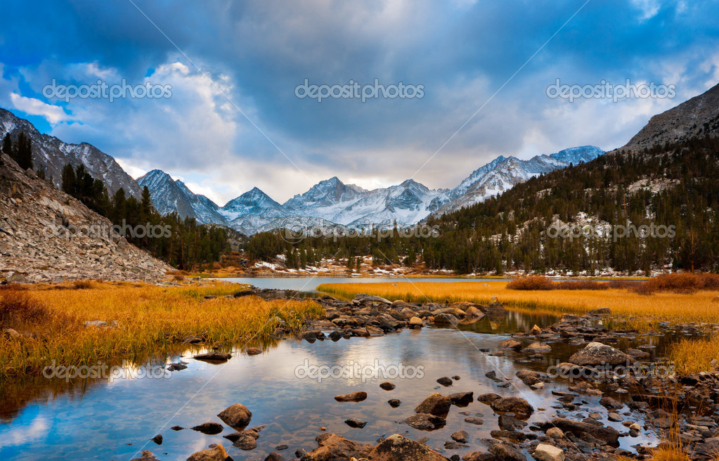 Amazing Landscape, Beautiful Mountain Sunset  Stock Photo #8543051