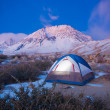 Camping in the Mountains - Foto de Stock