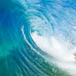 Blue Ocean Wave — Stock Photo #8618214