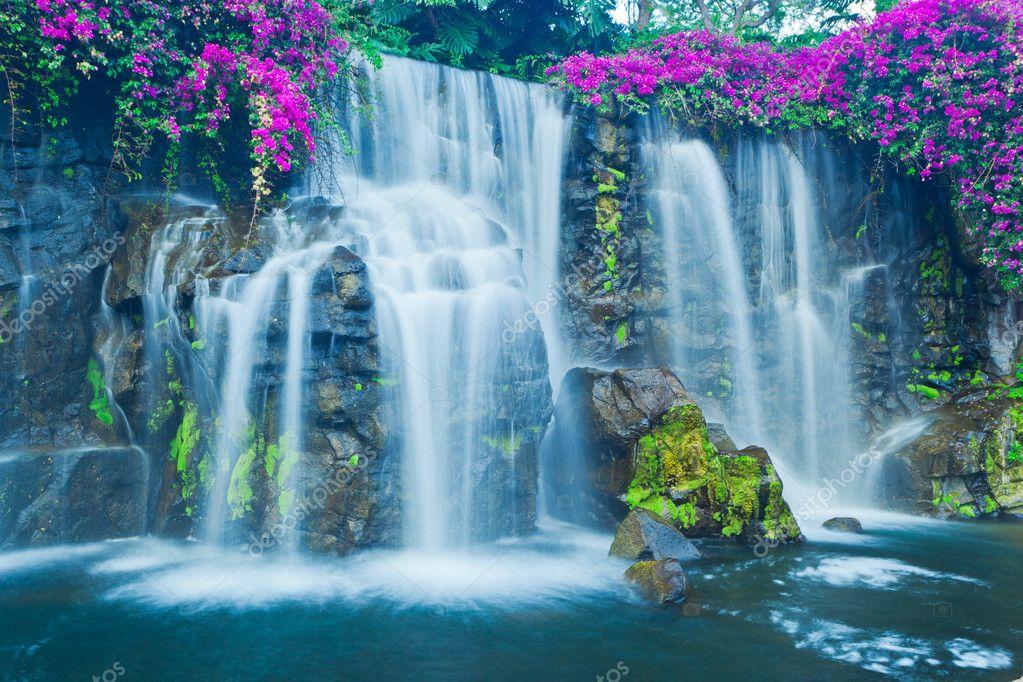 Водопады мира фото в цветах