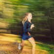 Royalty-Free Stock Photo: Runner