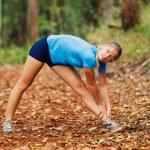 Runner Stretching — Stock Photo #9838662
