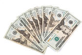 20 Dollar Bills Cash Currency — Stock Photo