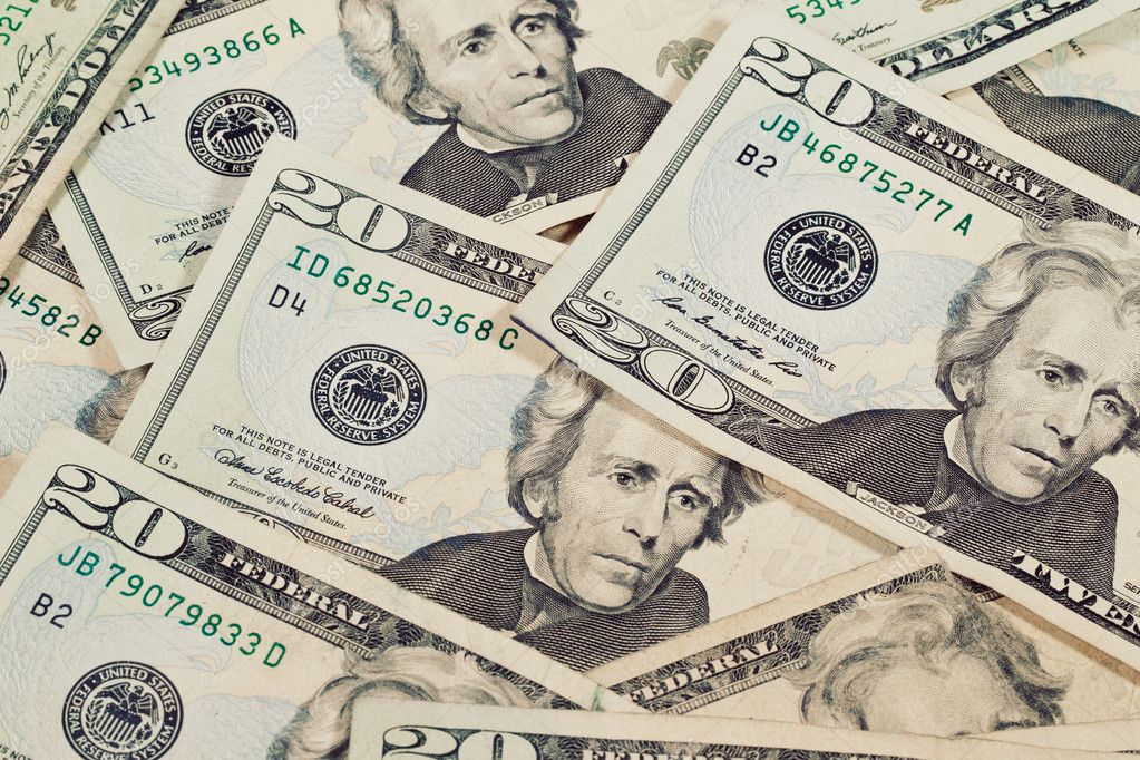 Heap of Dollars Money Background — Photo #9838456