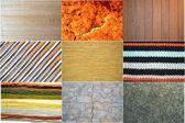 Een collectie van texturen — Stockfoto
