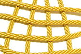 COLDEN ROPE — Stock Photo