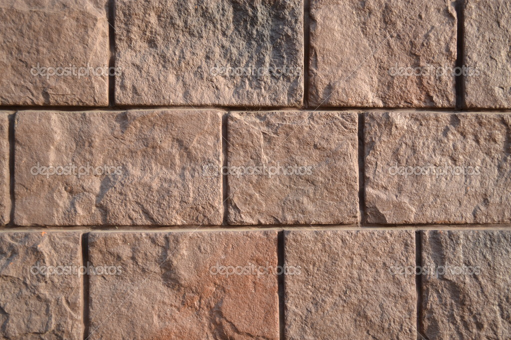 STONE WALL GREAT AS A BACKGROUND — Stock Photo #8622022
