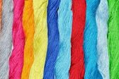 DYED YARN — Foto Stock