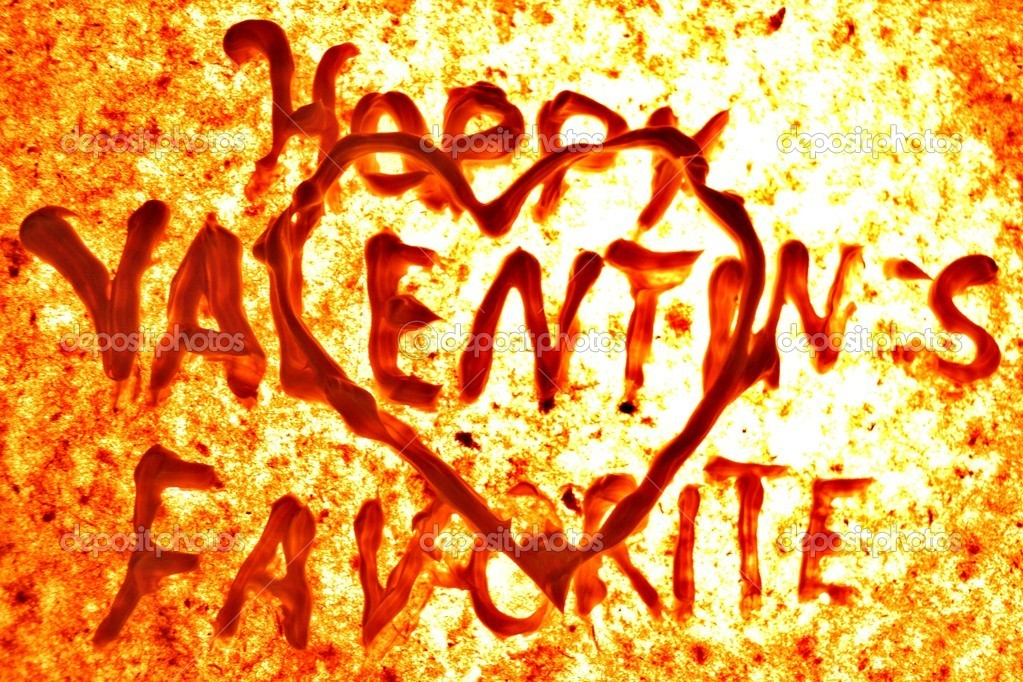BACKGROUND FOR VALENTINES DAY  Stock Photo #8887604