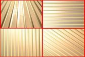 Abstract Silver Aluminium Stripe Background — Stock Photo