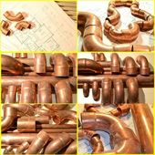 Plumbing Supplies — Stockfoto