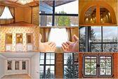 Window.Collage — Stock Photo
