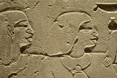 Starożytny egipt hieroglif — Zdjęcie stockowe